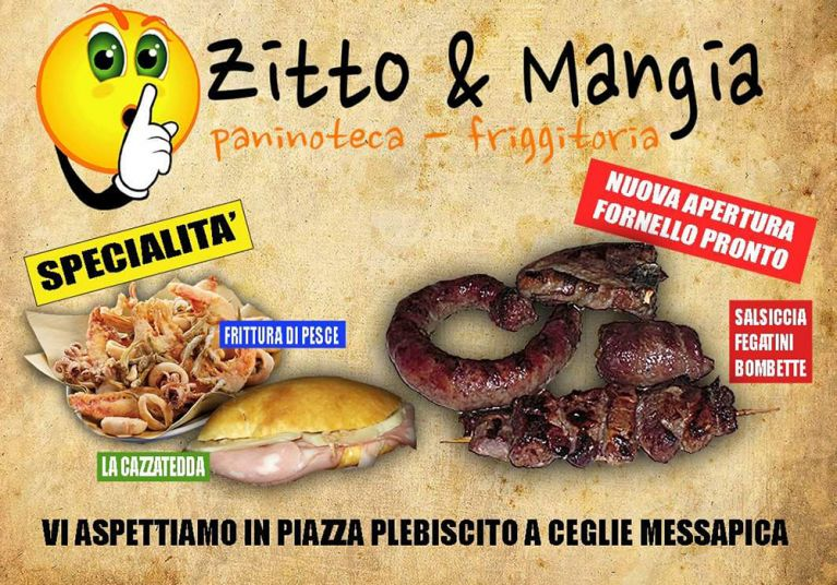 Roticceria Paninoteca Friggitoria Zitto e Mangia Brindisi